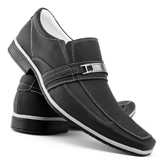 Sapato Social Masculino Bico Fino Luxo Oferta Imperdível