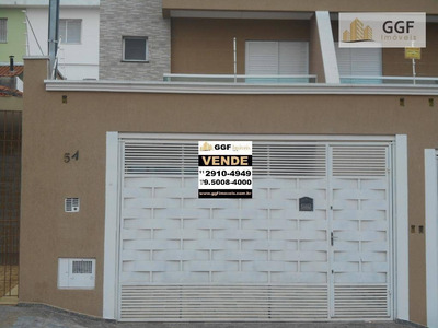 Sobrado Novo Jd. Vila Formosa 3 Suítes - So0035