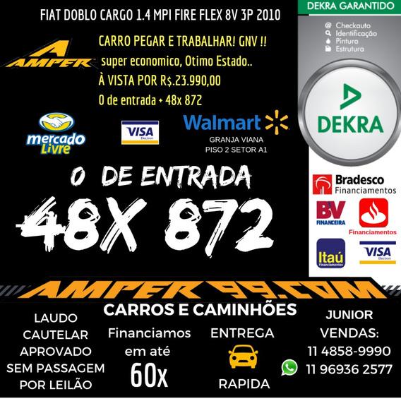 Fiat Doblo Cargo 1.4 Mpi Fire Flex 8v 3p Gnv
