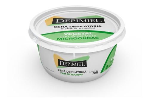 Cera Depilatoria Para Microondas Vegetal Depimiel X 200