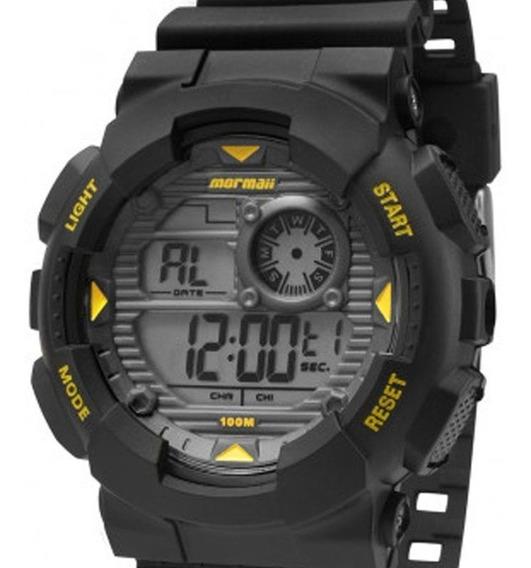 Relógio Mormaii Masculino Mo3415/8y C/ Garantia E Nf