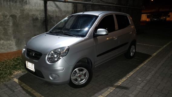 Kia Picanto Motor 1100 Año 2010 Gris 4 Puertas