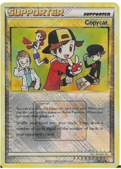 Carta Pokémon Tcg Item Copycat Crosshatch League Promo