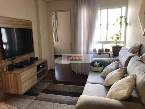 Apartamento Com 3 Dormitórios E 1 Vaga À Venda, 69 M² - Vila Bastos - Santo André/sp - Ap7228