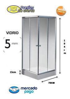 Box Cabina De Ducha 70x70 Cuadrada 5mm + Rec Oferta!!!
