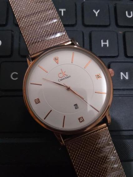 Relógio Feminino Analógico Luxo Madame Sofisticado 2019 C/cx