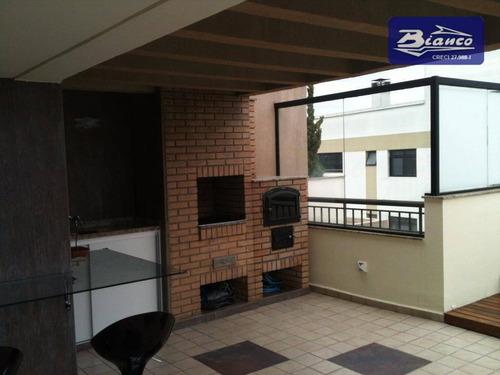Cobertura Residencial À Venda, Vila Augusta, Guarulhos. - Co0001