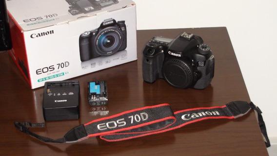 Canon Eos 70d + Lente Canon Efs-18-200 + Flash Yongnuo