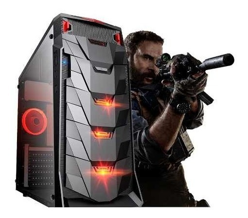Pc Gamer Amd Athlon 200ge, 8gb, Hd 500gb E Win10