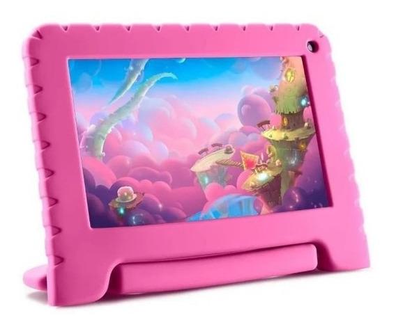 Tablet Kid Pad Lite 16gb 7 Rosa Nb303 Multilaser