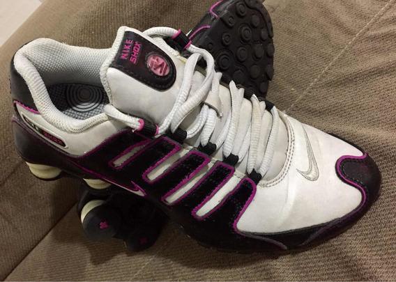 Tênis Nike Shox Feminino Original Seminovo