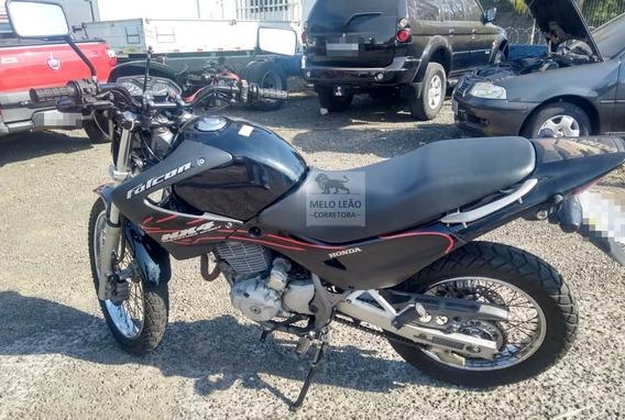 Moto Honda Nx-4 Falcon - 07/07 - Preta, C/ 54.000 Km Rodados