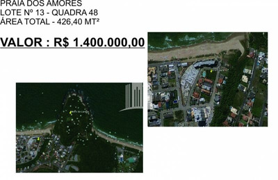 Terreno Praia Dos Amores Balneário Camboriú Sc ! - 337