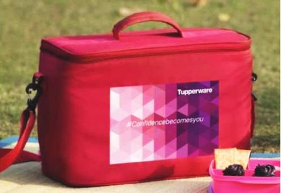 Tupperware Bolsa Térmica Importada Vermelha Pic Nic