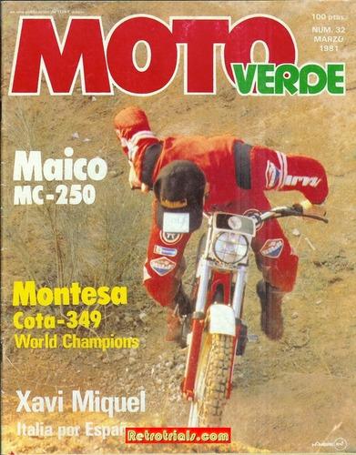 Montesa Cota Trial 349 Española