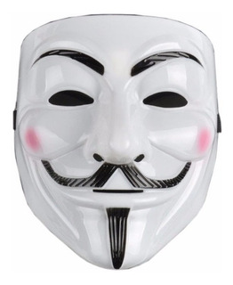 Mascara V For Vendetta Guy Fawkes Anonymous