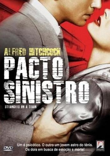 Pacto Sinistro - Dvd - Farley Granger - Alfred Hitchcock