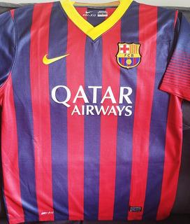 Camisa Barcelona 2013 2014 #11 Neymar Jr