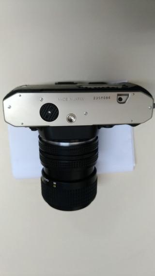 Câmera Nikon Fm10 Com Objetiva Zoom 35-70mm Novinha !!