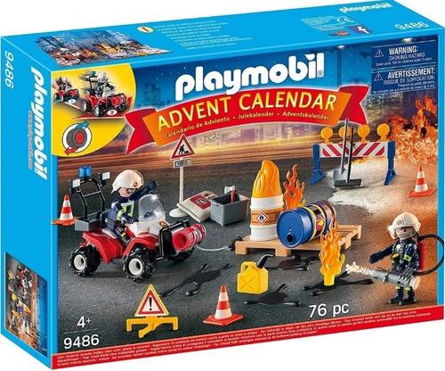 Playmobil Set Operación De Rescate Advent Calendar 9486 Full