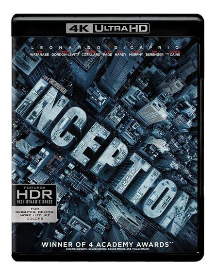 Inception 4k Ultra Hd Blu Ray Bluray Christopher Nolan Origi
