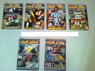 Lote 45 Revistas Club Play 1x $200 - 3x $500 Sgo Del Estero