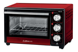 Horno Electrico Ultracomb Uc-23 23 Litros 1350w Grill 12cts