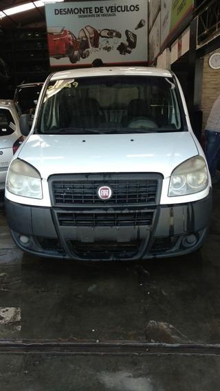 Sucata Fiat Doblo Cargo 1.4 8v Motor Cambio E Peças