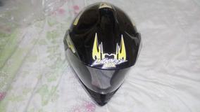 Capacete Masculino Pro Tork Liberty Mx Vision Preto Tam 58