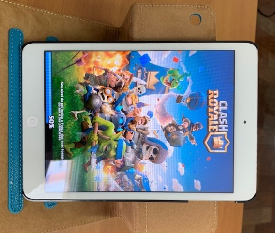 iPad Mini 16gb Branco - Usado Em Bom Estado