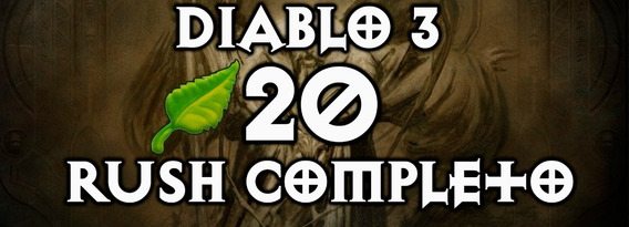 Diablo 3 Season 20 Power Level - Rush Temporada - Pc