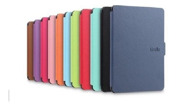 Capa Case Kindle Paperwhite Cores + 4 Brindes
