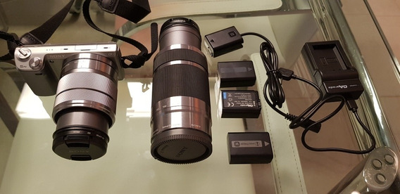 Camera Fotografica Sony Nex 5n + Lente Sel55210 + Bag+ Batt