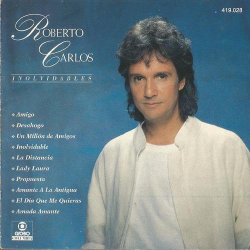 Imagem 1 de 3 de Cd Album Roberto Carlos Inolvidables 1a Ed. Br 1993