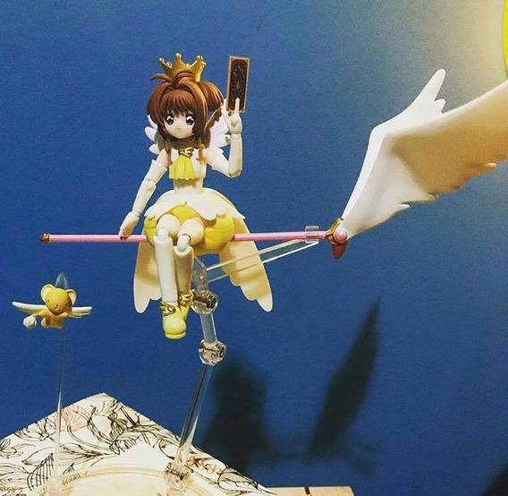 S.h. Figuarts Sakura Kinomoto Cardcaptor Yellow 2° Abertura
