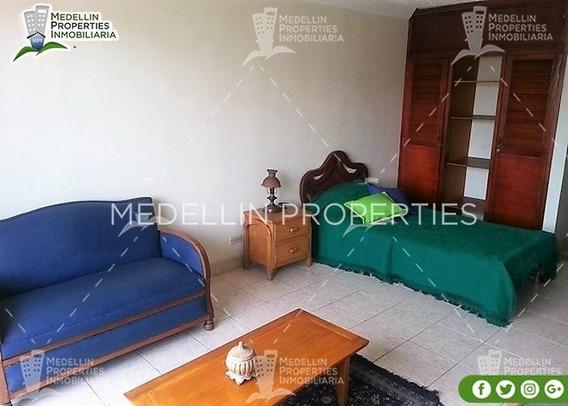 Apartamentos Y Casas Amobladas Por Dias En Medellin Cód:4432