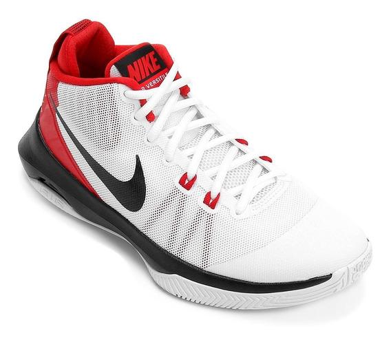 Tênis Nike Air Versitile Masculino - Branco E Vermelho Nº 46