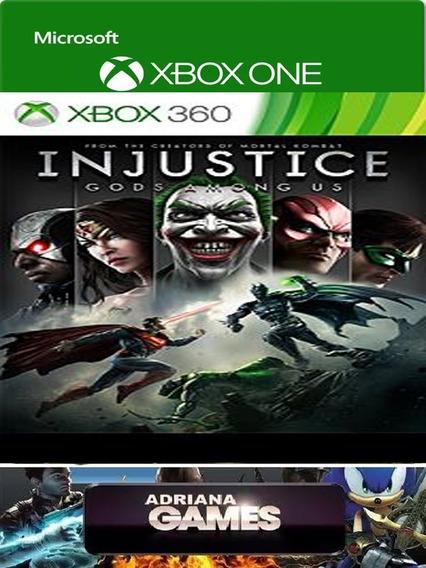 Injustice Jogo Xbox One/360 Game Digital 100% Original L