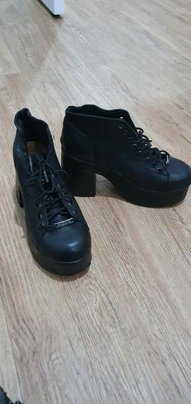 Zapatos Nazaria Borsegos Con Plataforma