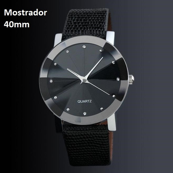 Relógio Unissex Analógico Quartzo 40mm 1ram-11