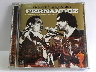 Cd Vicente Alejandro Fernandez En Vivo Juntos Por Última Vez
