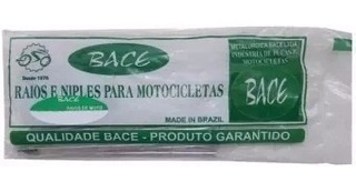 Jogo De Raios Inox 4mm Bace Yamaha Xt 660r Dianteiro