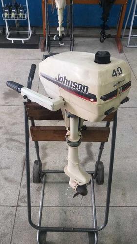 Motor De Popa Jonhson 4 Hp 1998 12 X Cartao