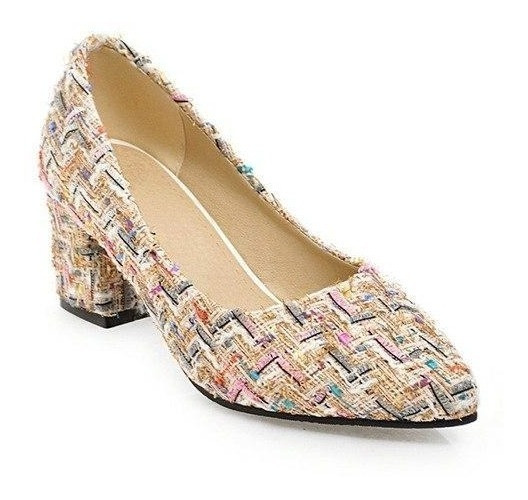 Sapato Feminino J&k 13059 Importado Frete Grátis