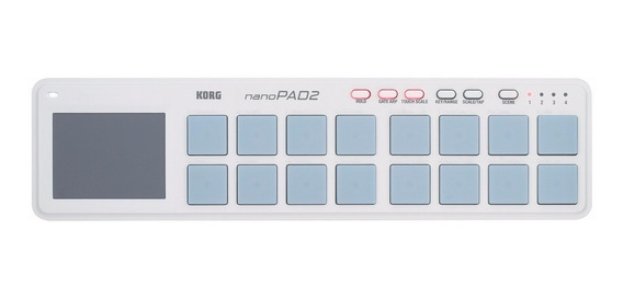 Controlador Korg Usb-midi C/16 Pads Nanopad2 - Branco