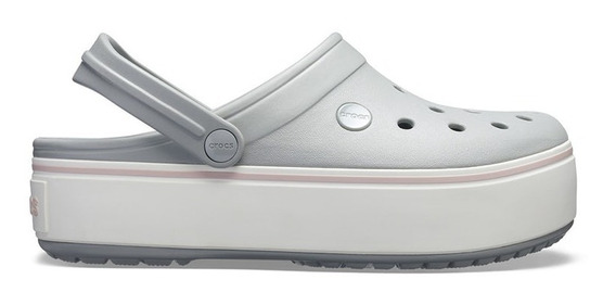 Suecos Crocs Crocband Platform Clog Mujer