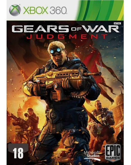 Gears Of War Julgamento Xbox 360 / One Original Novo Lacrado
