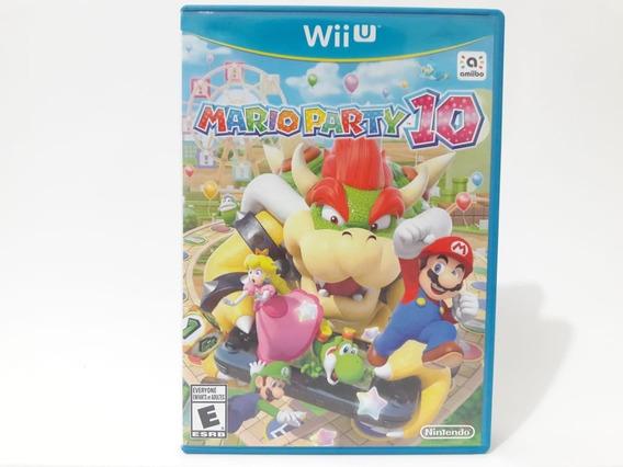Mario Party 10 Wii U Jogo Original Bem Conservado