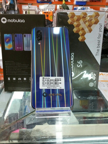 Mobulaa S6 16 Gb Color Gris De Huella 2 Ram Con 2800mah