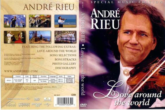 Love Around The World - Dvd André Rieu Lacrado Cassicos